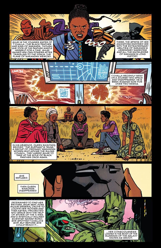 'Shuri: The Search for Black Panther' TPB review