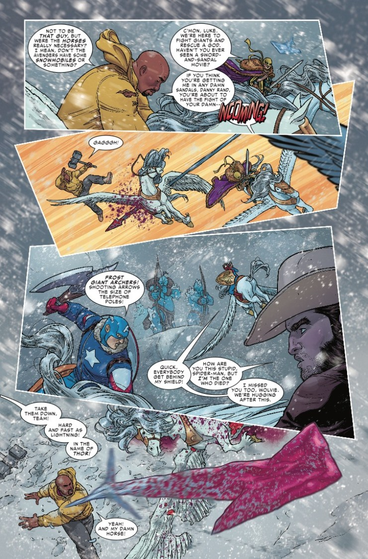 Marvel Preview: The War Of The Realms #3