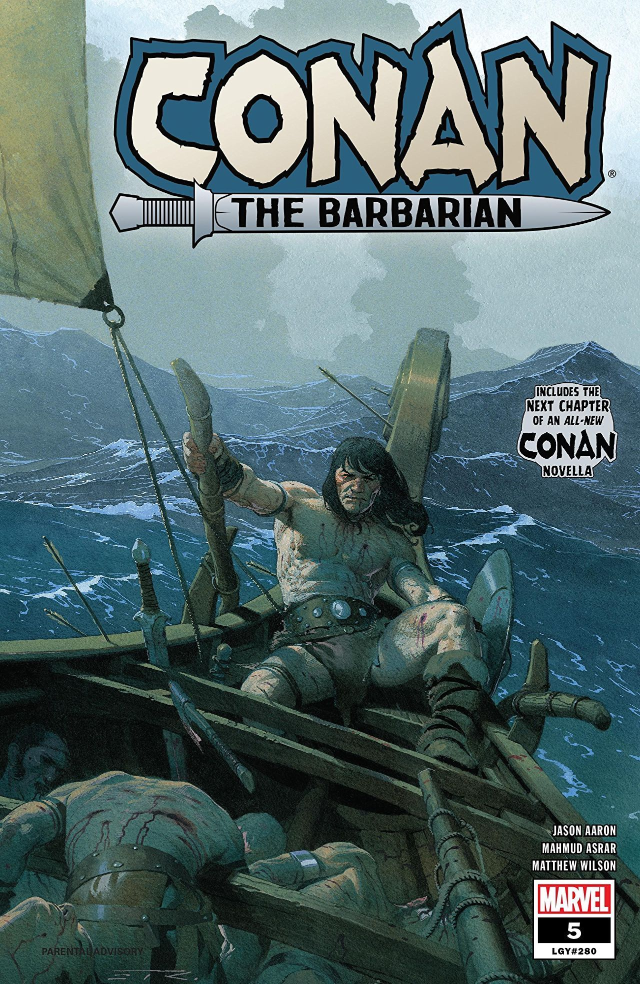 Conan the Barbarian # 5 review