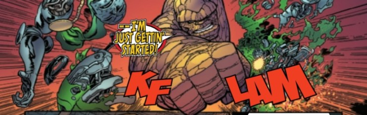 Fantastic Four #9 review: Outside the box