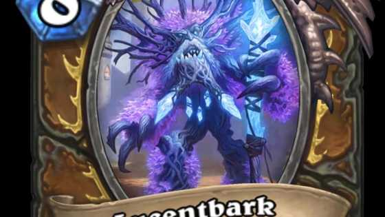 Healing Druid could be on the menu for Rise of Shadows with newest Druid Legendary minion, Lucentbark.