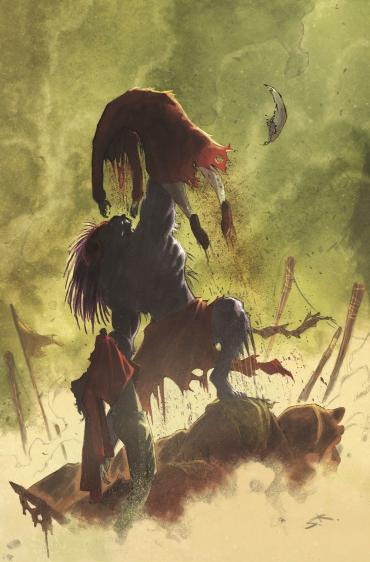 These Savage Shores #4 review: Monsters