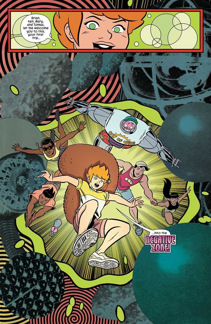 North and Charm take Squirrel Girl  to new heights of importance in the overarching comic story.