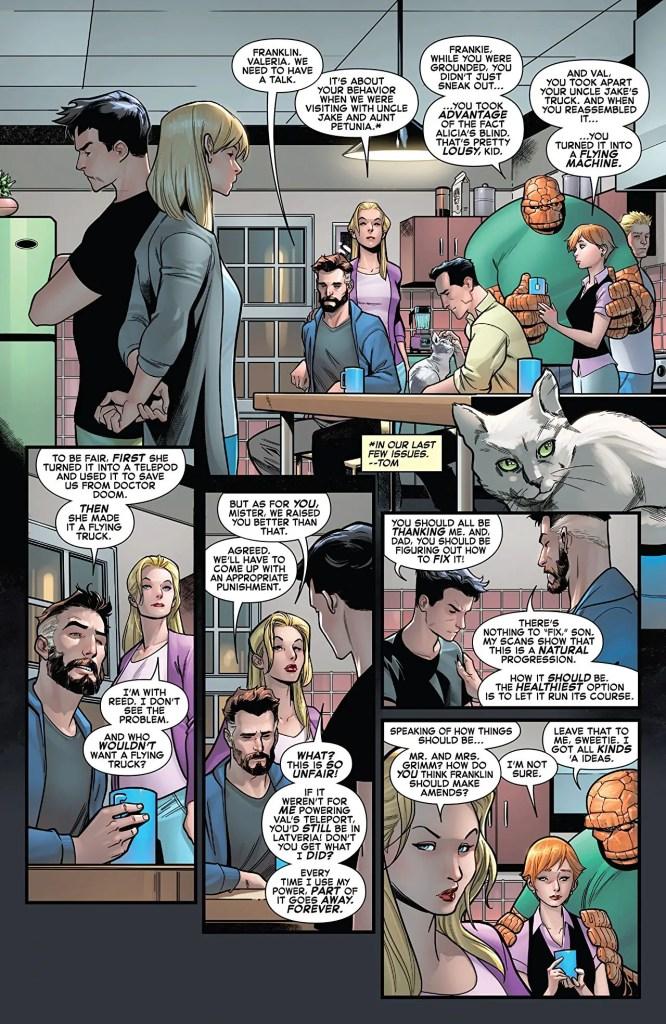 Fantastic Four #10 review: neighboring realm