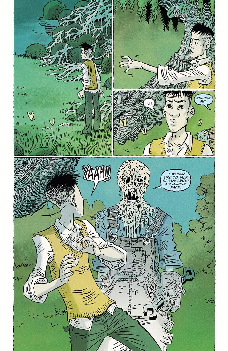 Ghost Tree #2 review: rekindling the spirit with an old flame