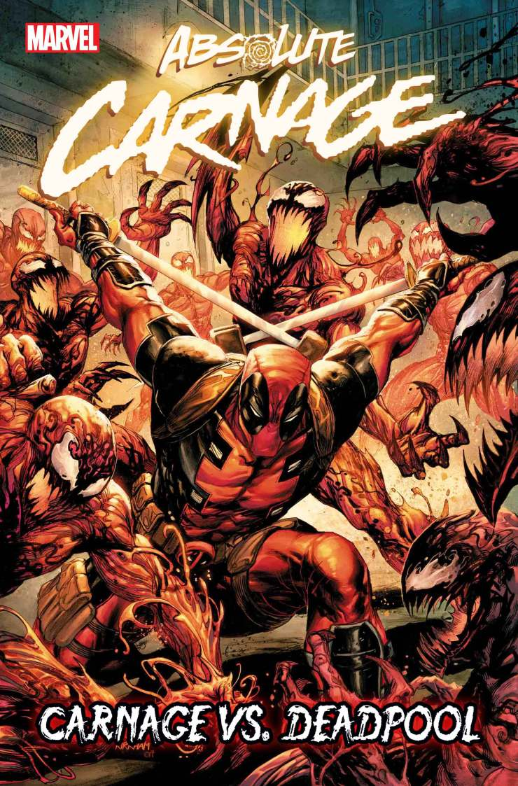 First Look: Every single Absolute Carnage tie-in revealed featuring Deadpool, new Symbiotes, and more!