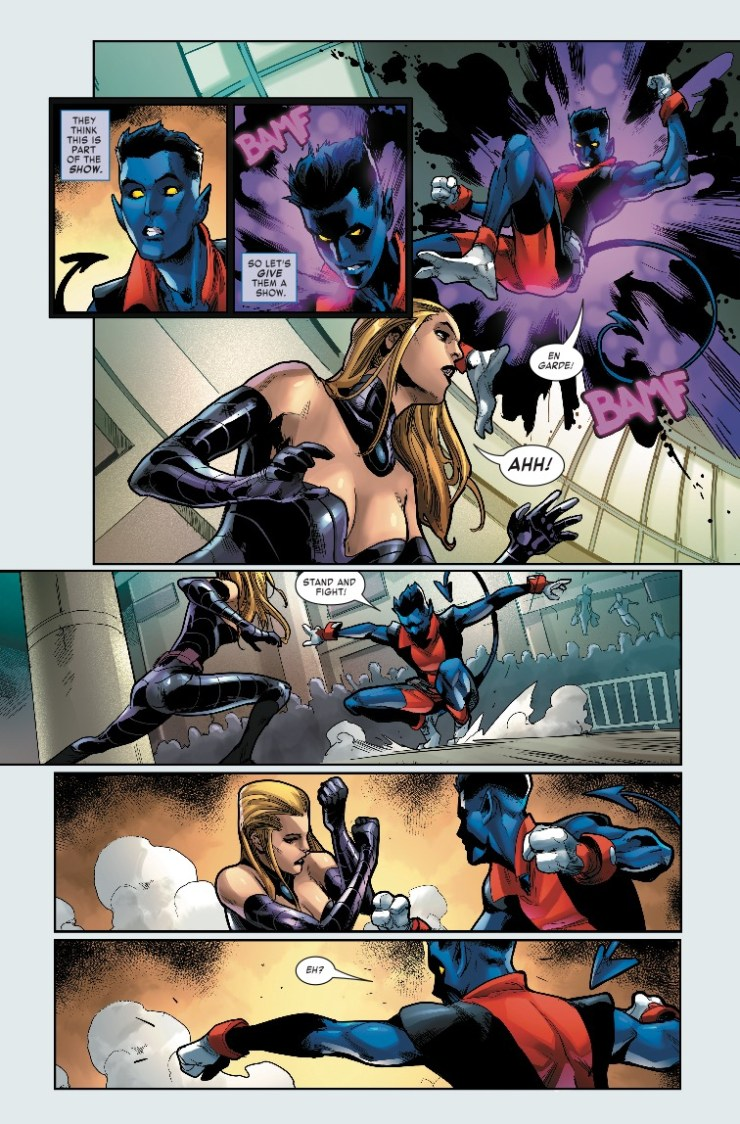 Marvel Preview: Age Of X-Man: The Amazing Nightcrawler #4