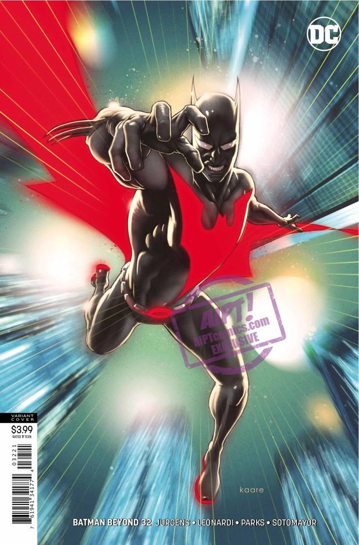 EXCLUSIVE DC Preview: Batman Beyond #32