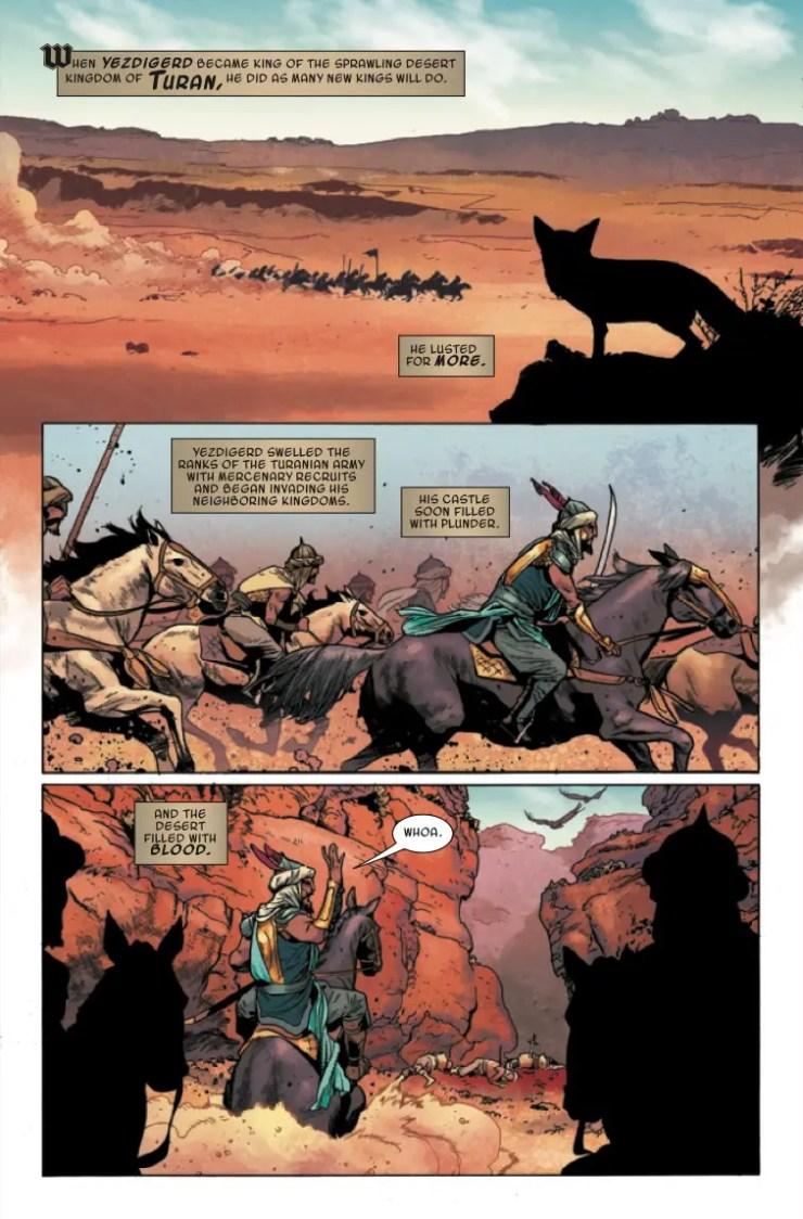 Marvel Preview: Age Of Conan: Bêlit #3