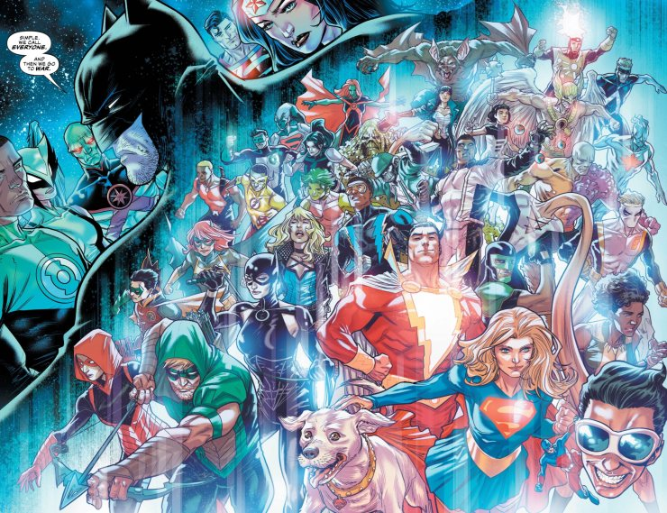 DC Year of the Villain #1 review: Doom Days