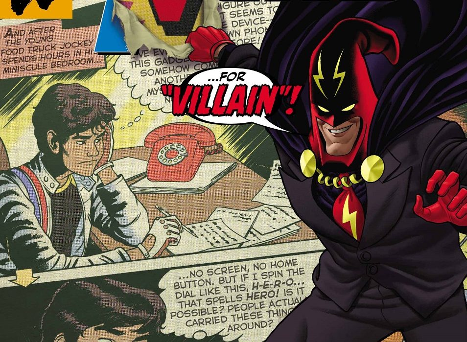 Dial H for Hero #3 Review: The Power of Nostalgia