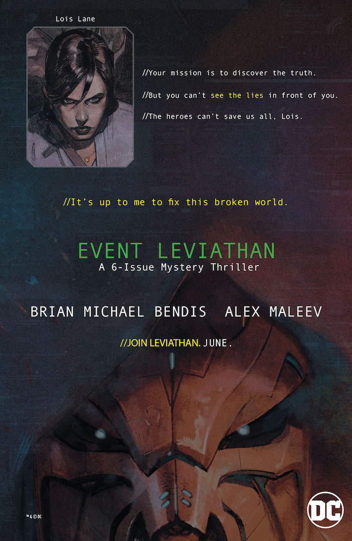 First Look: Brian Michael Bendis and Alex Maleev's Event Leviathan promo materials