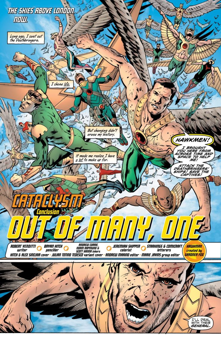 Hawkman #12 review: History