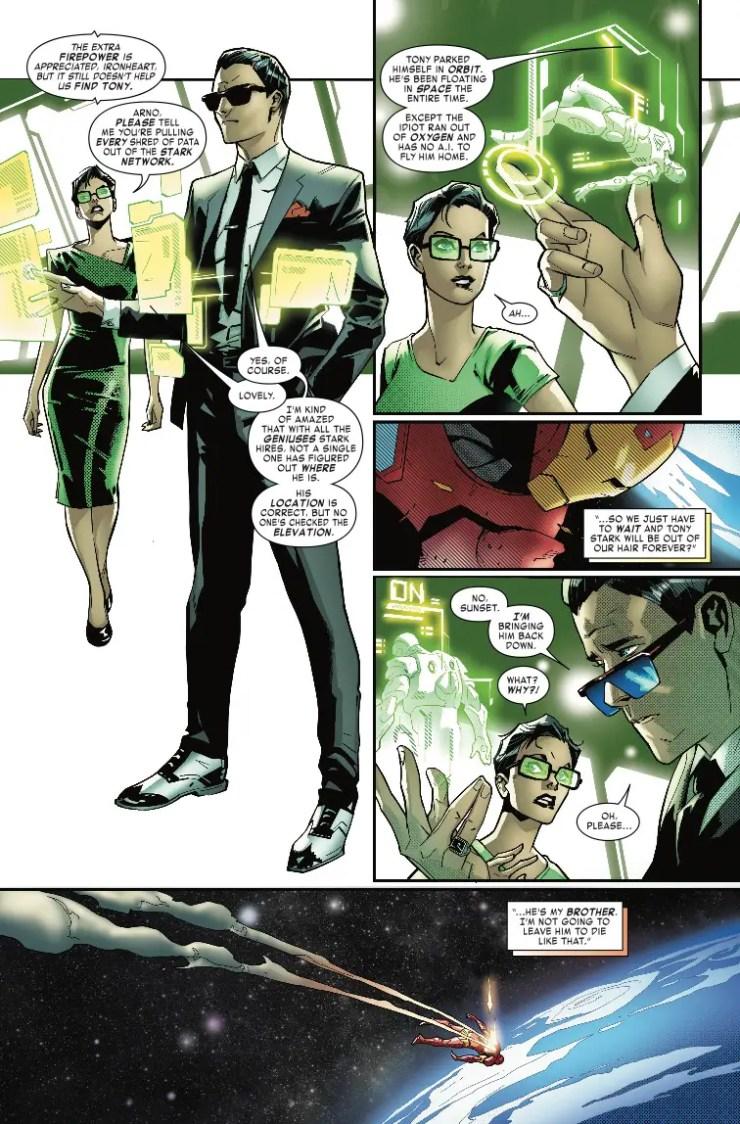 Marvel Preview: Tony Stark: Iron Man #11