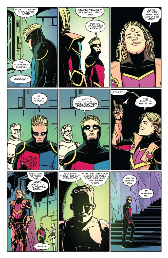 Peter Cannon: Thunderbolt #5 review: The Future