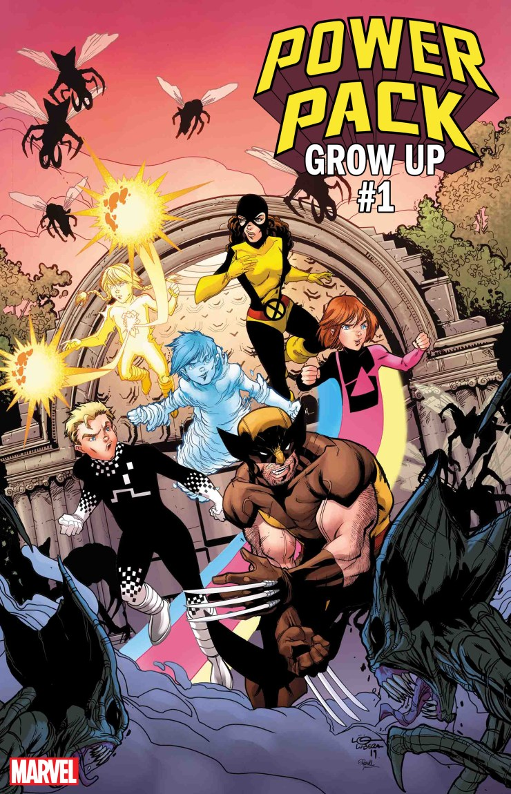 Marvel reveals new Power Pack series Grow Up out this August