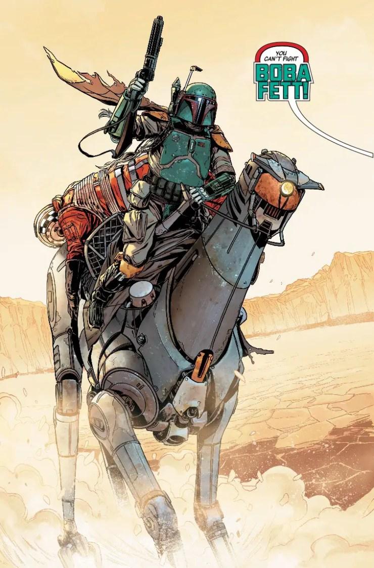 Star Wars: Age of Rebellion - Boba Fett #1 Review