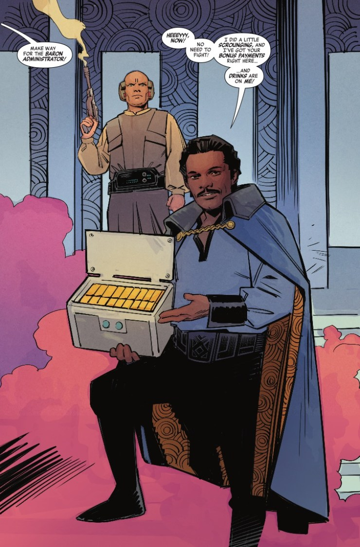 Marvel Preview: Star Wars: Age of Rebellion - Lando Calrissian #1