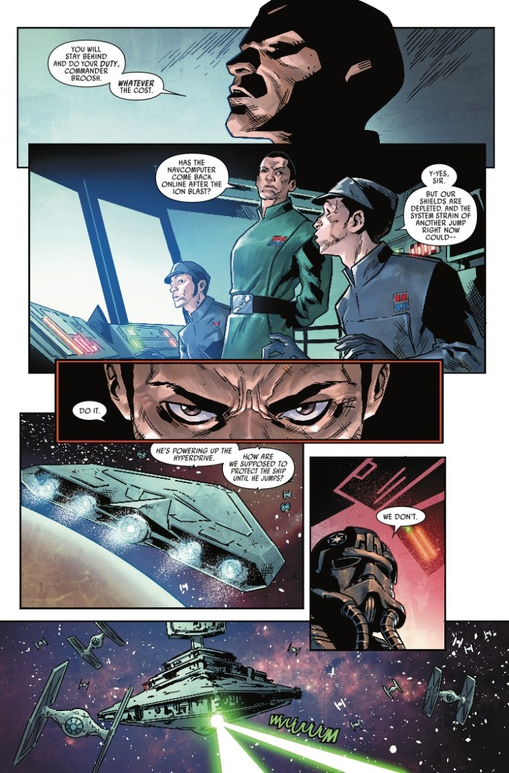 Marvel Preview: Star Wars: TIE Fighter #2