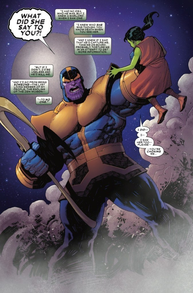 Thanos #2 Review: Uneasy alliance