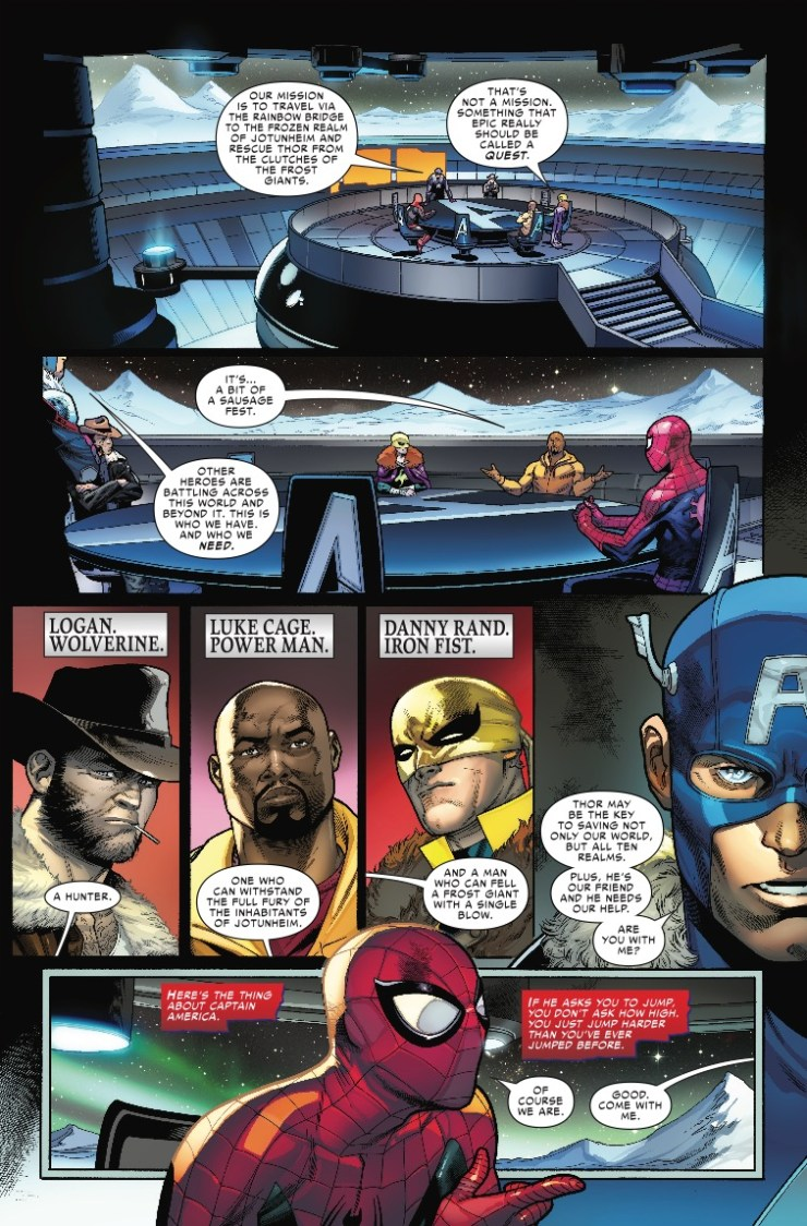 Marvel Preview: War Of The Realms Strikeforce: The Land Of Giants (2019) #1