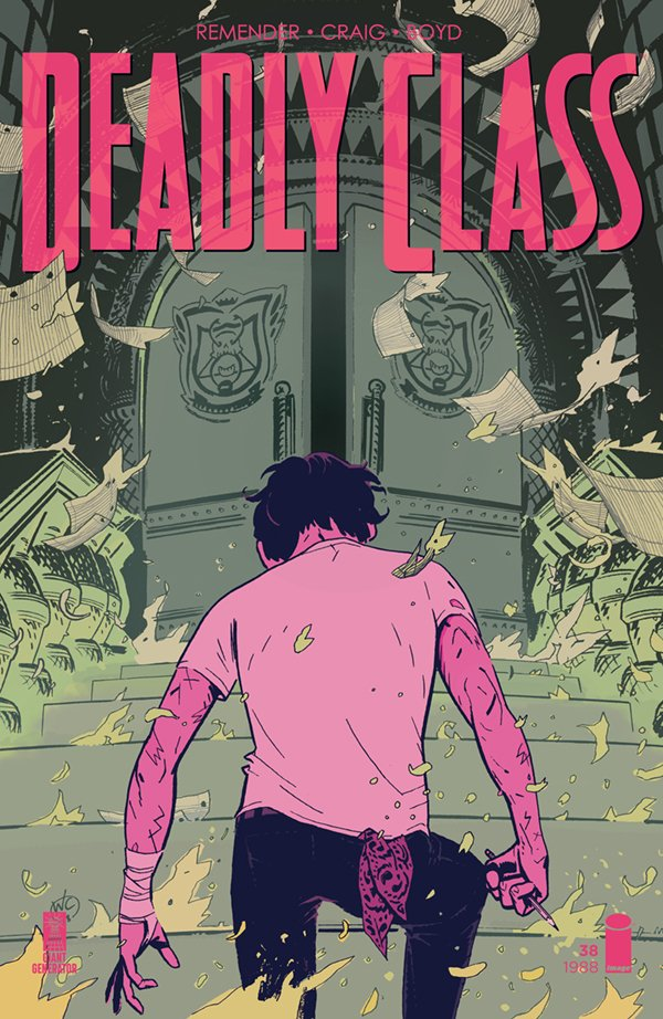Deadly Class #38: Back in the black hole