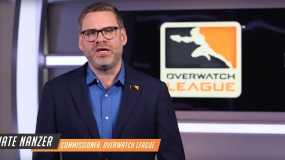 Nate Nanzer steps down as Overwatch League commissioner, joins Epic Games