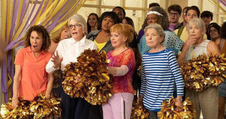 Poms Review: Cute/feel good comedy that isn't great, but will make you smile