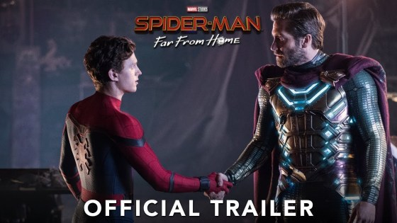 The official Spider-Man: Far From Home trailer features Spider-Man wallcrawling up to fill the shoes of the fallen.