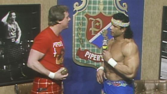 I couldn't care less for Roddy Piper.