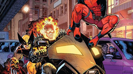 Wolverine, Deadpool, and Ghost Rider bring you some 90's nostalgia in three separate great stories.