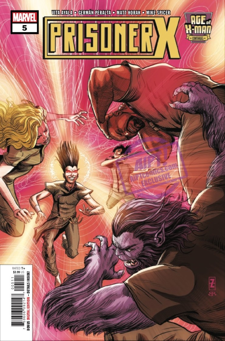 EXCLUSIVE Marvel Preview: Age Of X-Man: Prisoner X #5