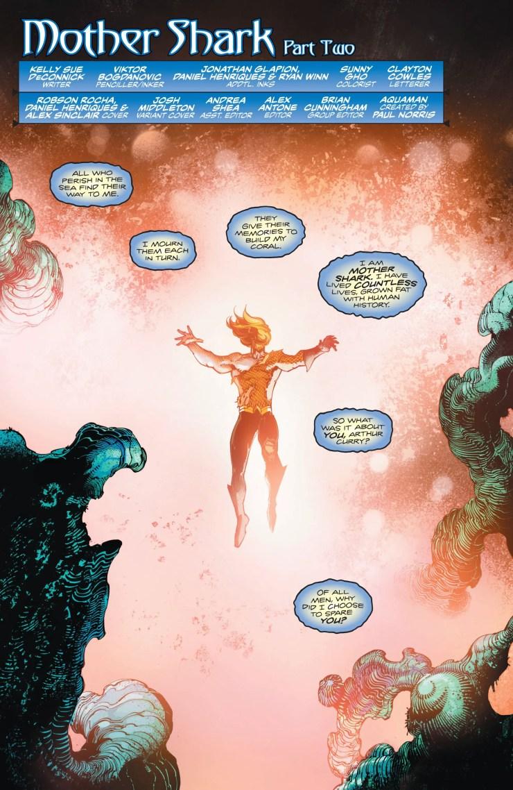 Aquaman #49 review: Memories