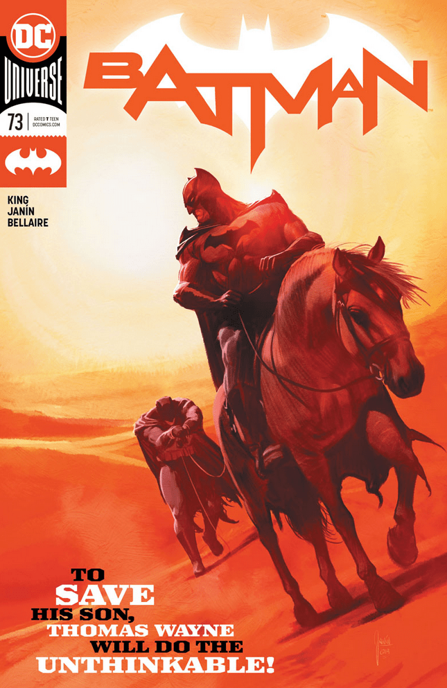 Batman #73 review: Death in the Desert