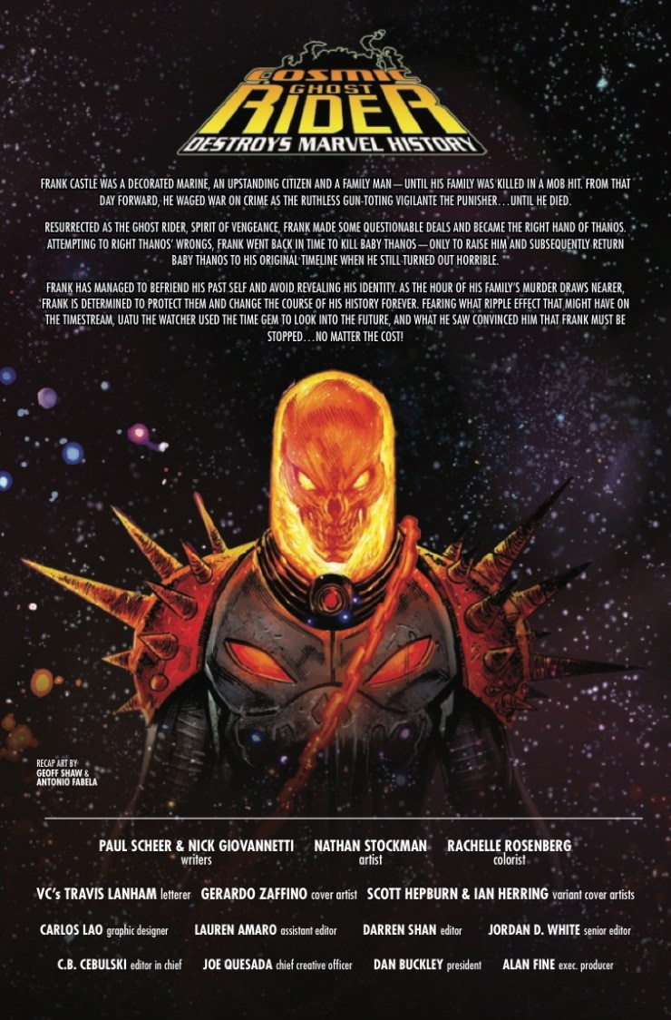 Marvel Preview: Cosmic Ghost Rider Destroys Marvel History #5