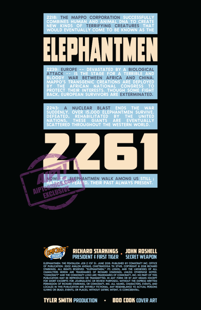 EXCLUSIVE Comixology Preview: Elephantmen 2261 Season Two #2