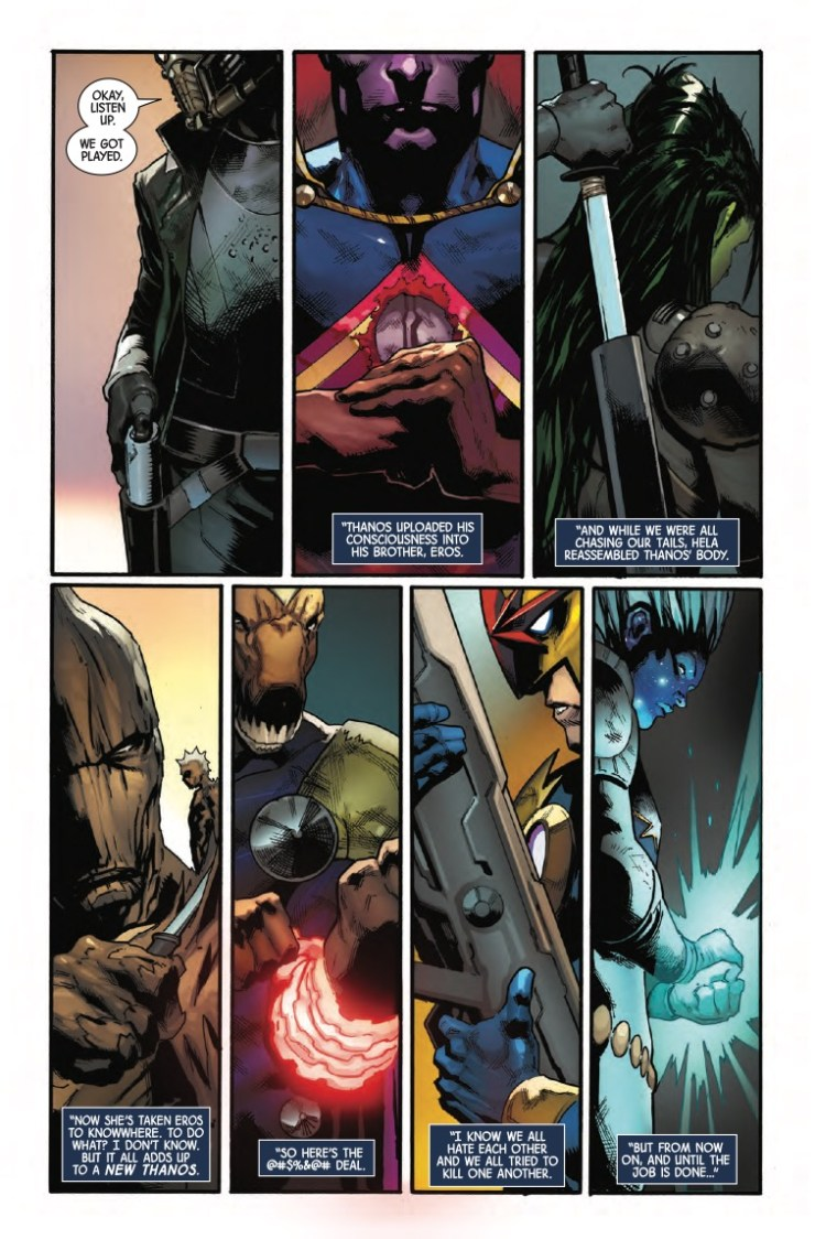 Guardians of the Galaxy #6 Review