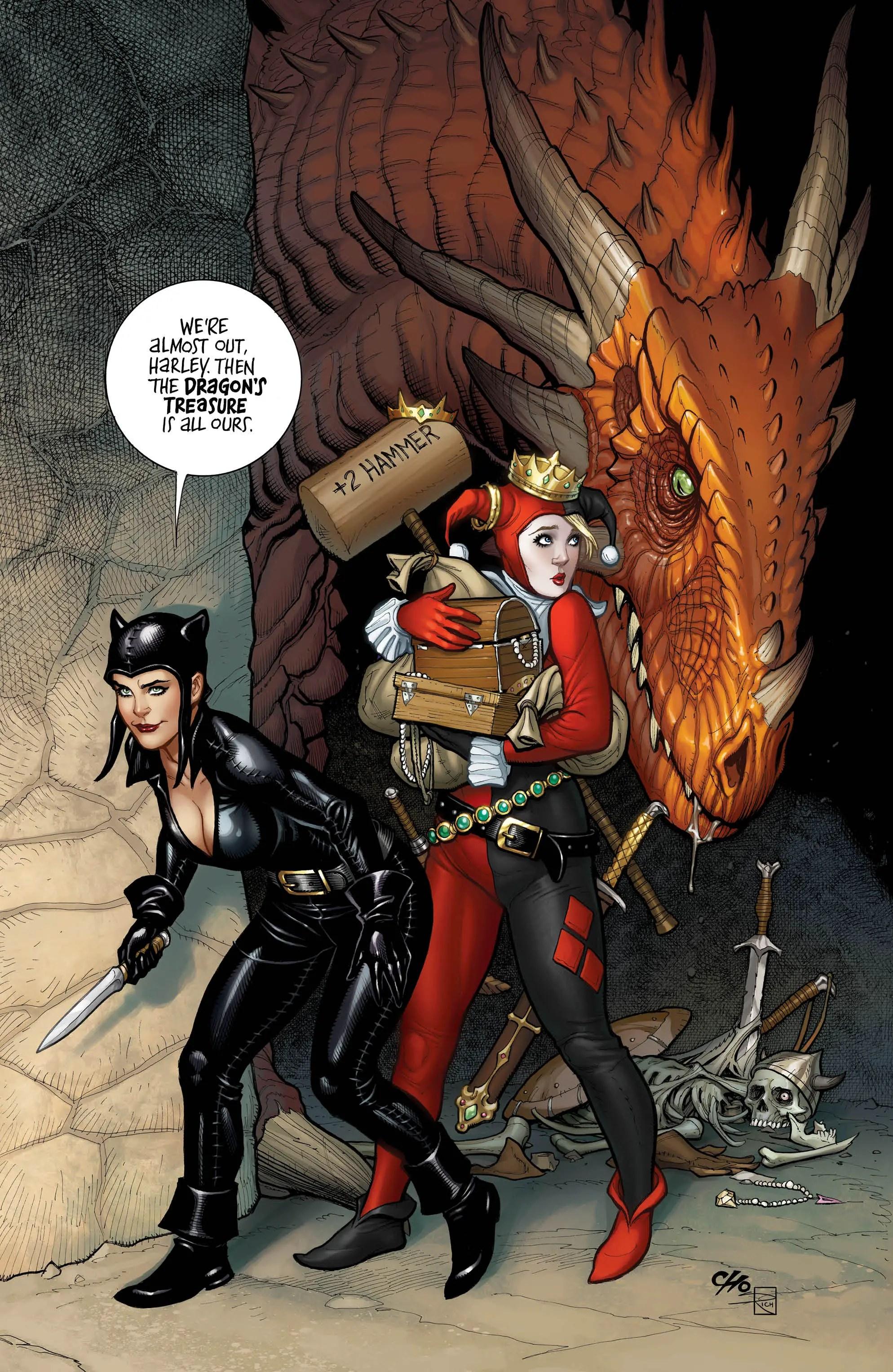 Harley Quinn #62 Review