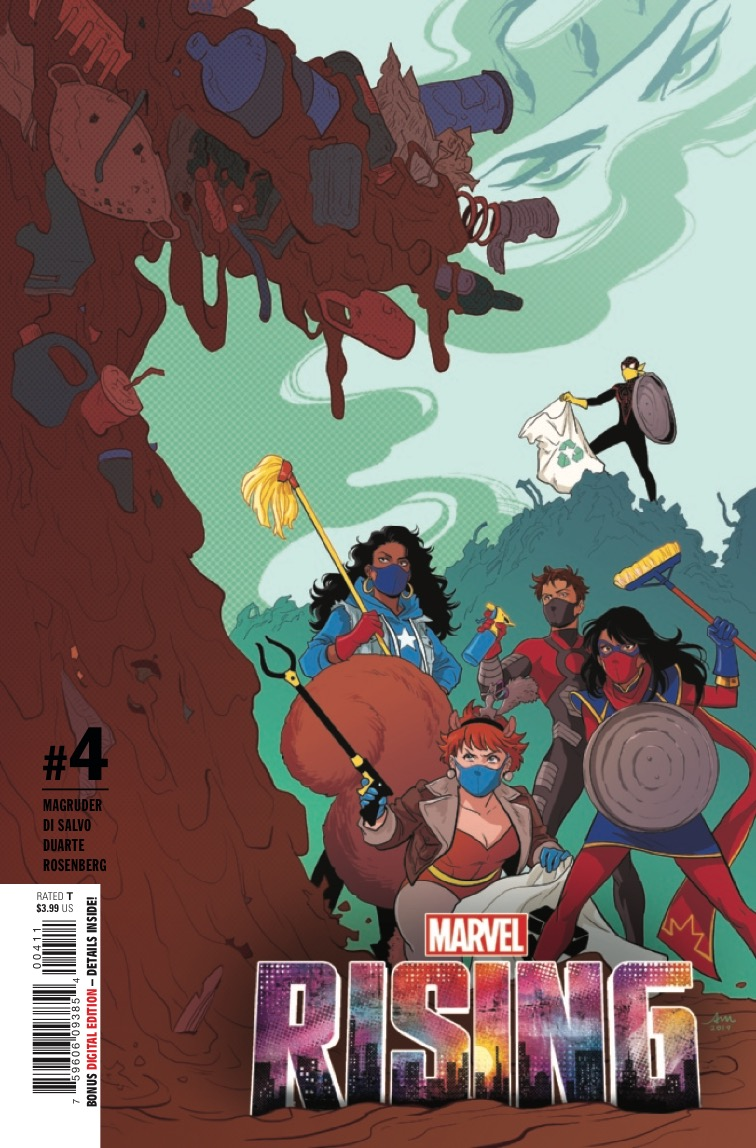 'Marvel Rising: Heroes of the Round Table' TPB Review