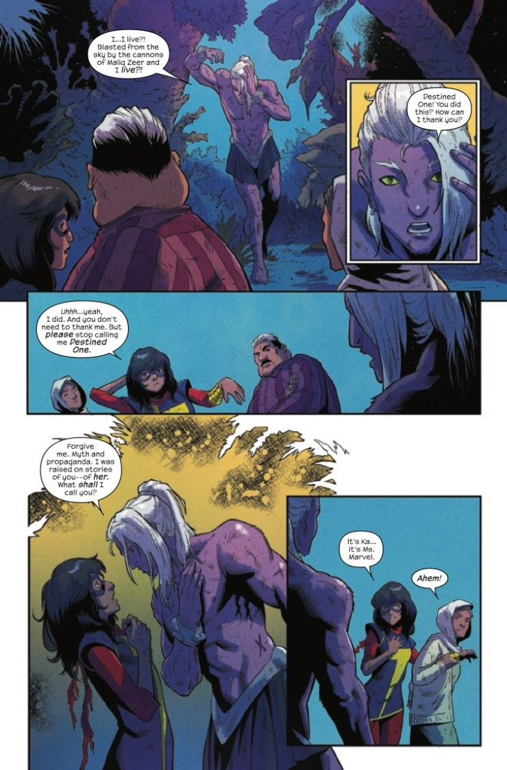 Marvel Preview: Magnificent Ms. Marvel (2019-) #4