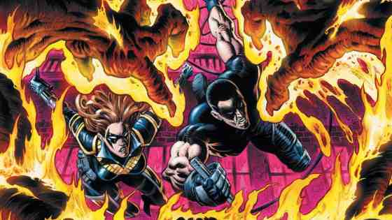 A sentient fire monster threatens to burn Bludhaven to the ground. However, Burnback's specific focus on police precincts suggests that there may be more to this monster than meets the eye. Will Ric Grayson and the Nightwings be able to solve this mystery and extinguish this threat before the body count rises?
