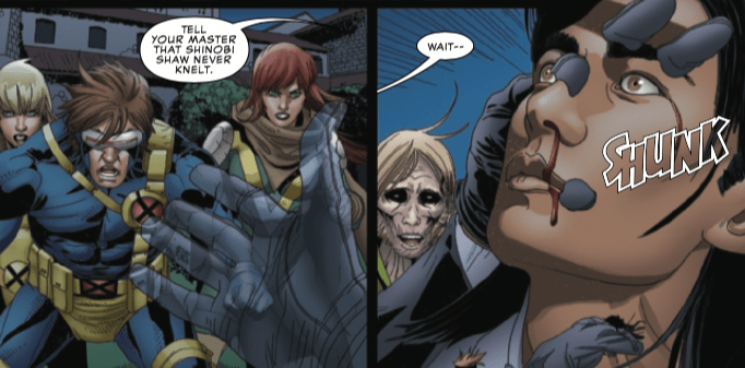More characters bite the dust in Uncanny X-Men #20