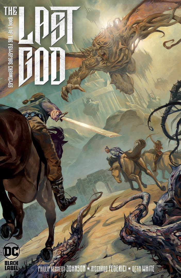 DC Comics to publish dark high-fantasy series 'The Last God' in October
