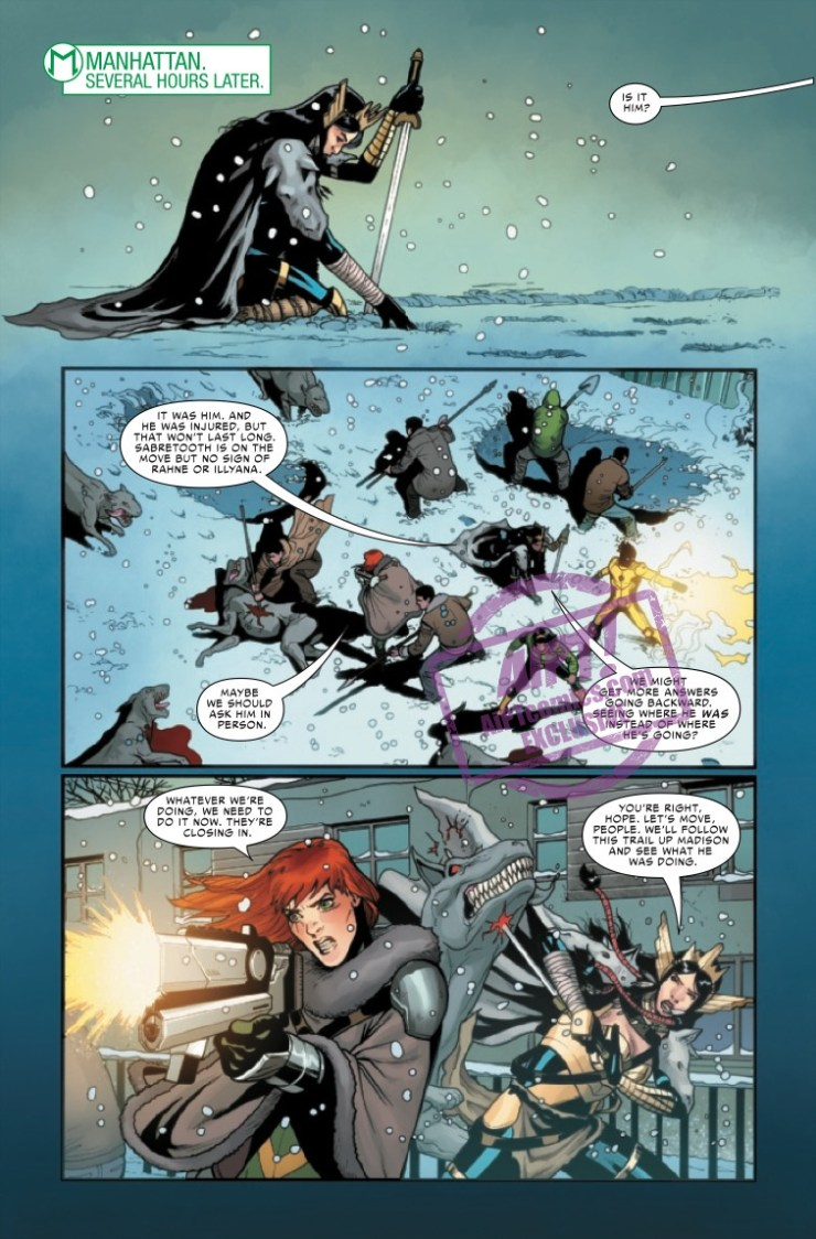 EXCLUSIVE Marvel Preview: War Of The Realms: Uncanny X-Men #3