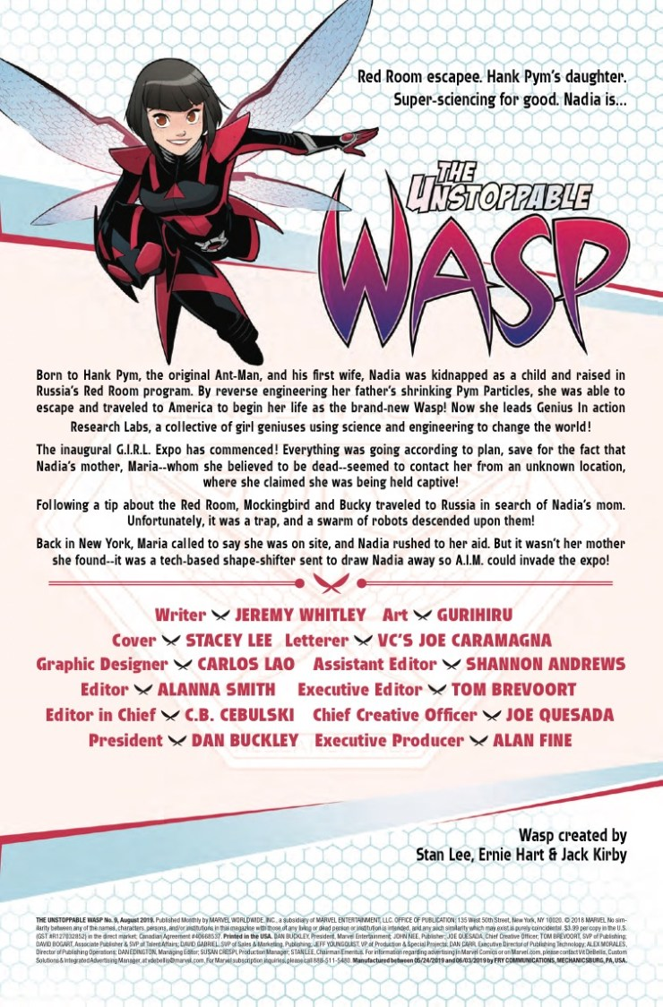 Marvel Preview: The Unstoppable Wasp #9