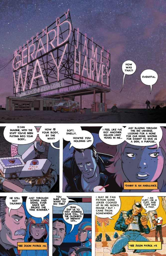 Doom Patrol: Weight of the Worlds #1 is a cosmic delight (Advance Review)