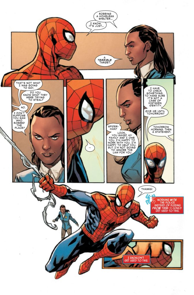 Friendly Neighborhood Spider-Man #8 Review: In perfect sync