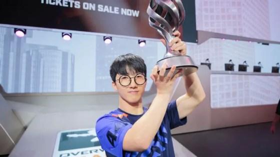Overwatch League unveils new legendary skin for league MVP JJoNak