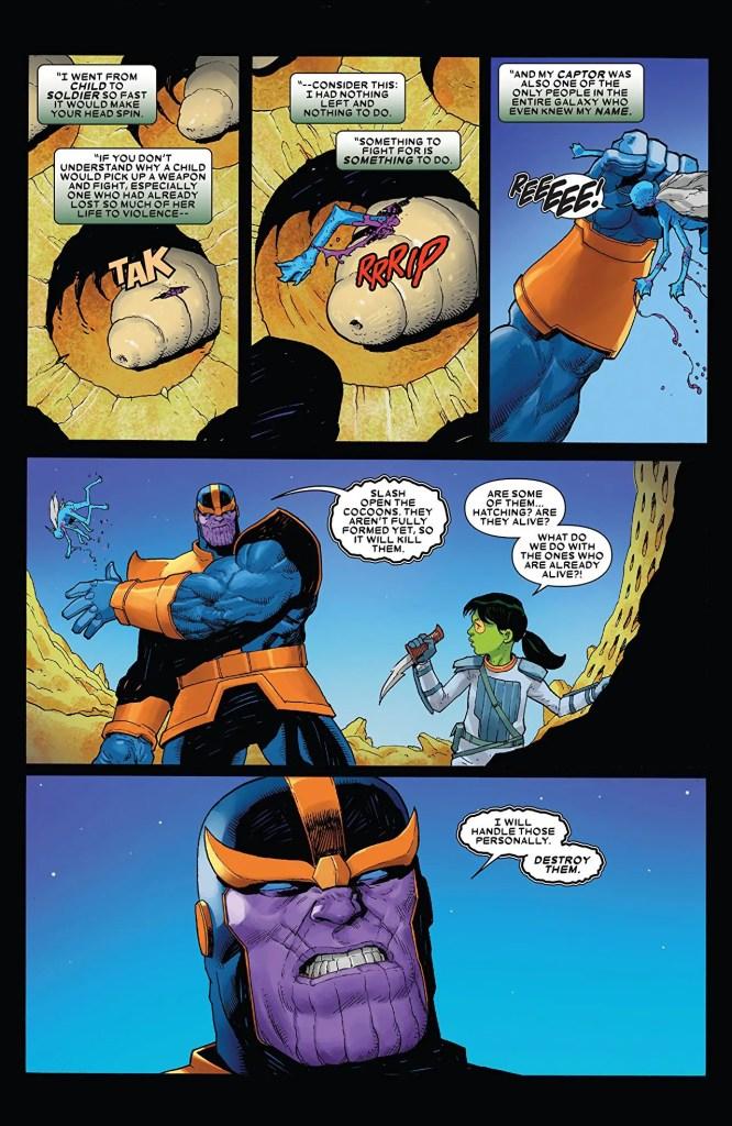 Thanos #3 review: bare essentials