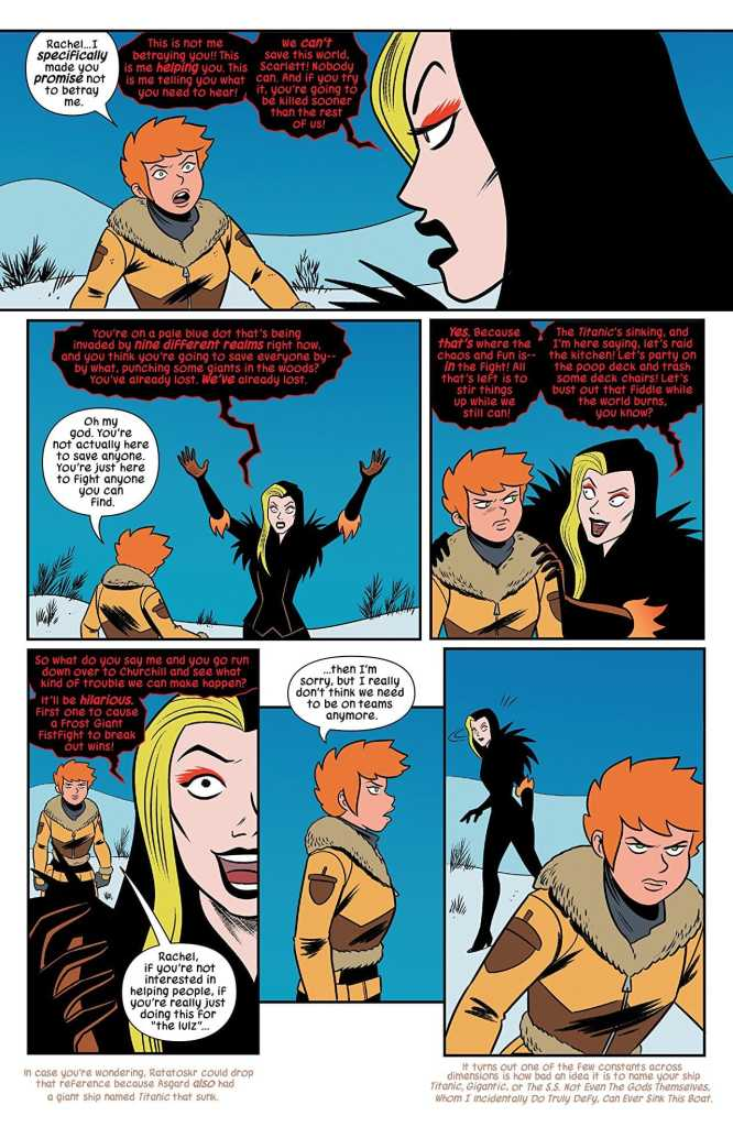 Unbeatable Squirrel Girl #45 review: The darkest evening of the year